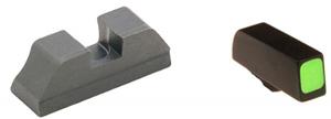 Ameriglo Sight Set - CLAW EMS - Glock - Glock 9mm, .40, .357, .45 G.A.P. - Black/Green