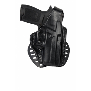 Gould & Goodrich Paddle Holster, Right Hand, BLACK - GLOCK 19,23,32