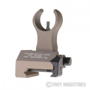 Troy Industries Front Folding Battle Sight - HK - FDE