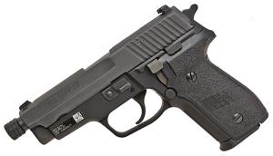 Sig Sauer M11-A1 9mm, Nitron, SigLite Night Sights, DA/SA - THREADED BARREL