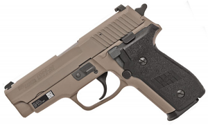 Sig Sauer M11-A1 Desert 9mm, SigLite Night Sights, DA/SA