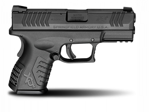 Springfield Armory XDM Compact, 9mm, Fixed Sights, 3.8