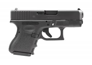 Glock 26 9mm - BLACK - U.S. MADE
