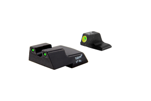 Trijicon HD Night Sight Set - HK P30/45C - YELLOW OUTLINE FRONT