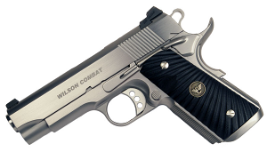 Wilson Combat CQB Compact .45ACP, Ambi Safety, Stainless, Round Butt Magwell