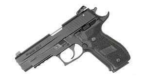 Sig Sauer P226R .22LR, Nitron, Adjustable Sights, DA/SA - Ext Beavertail