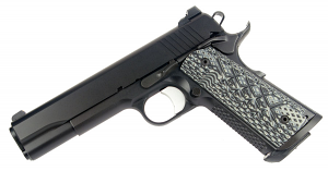 Guncrafter Industries No Name Government Model, 9mm, Ambi Safety, Magwell, Black