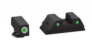 Ameriglo Tritium Night Sight Set - OPERATOR - Glock 42 - Green/Green
