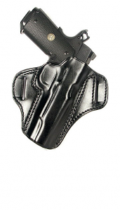 Ritchie Leather Belt Speed Scabbard - Glock 43