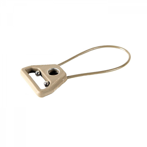 Blue Force Gear Universal Wire Loop - Push Button Socket - Tan