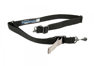 Blue Force Gear VICKERS 221 Sling - RED Swivel - Black