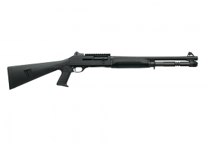 "Benelli M4 Tactical Shotgun W/Pistol Grip, 18.5"" Barrel, 12 Gauge"