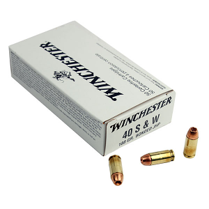 Winchester .40S&W 180 GR. Bonded JHP - 50RD - White Box