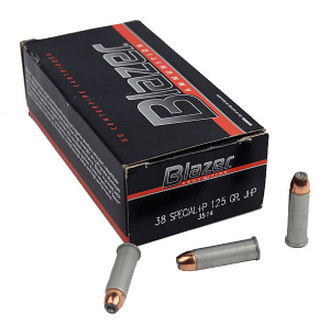 CCI Blazer .38 Special 125 GR. JHP +P - Aluminum - 50RD