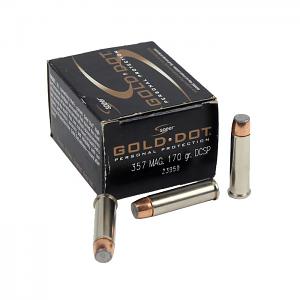 Speer Gold Dot .357 Magnum 170 GR. DCSP - 20RD
