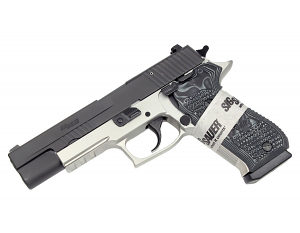 Sig Sauer P220R Stainless Match Elite, Reverse Two-Tone, 10MM, DA/SA