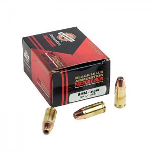 Black Hills 9mm Luger 124 GR. JHP - 20RD