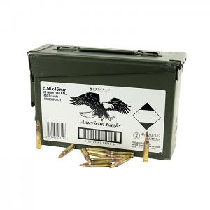 Federal M855 5.56 62GR. Penetrator Green Tip - 420 Round Case