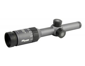 Whiskey5 1-5X20mm Riflescope - Right