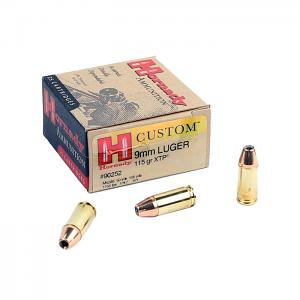 Hornady 9mm Luger 115 GR. XTP JHP - 25RD