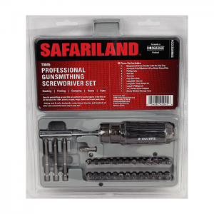 Safariland Professional Gunsmith Screwdriver Set - 32 Piece
