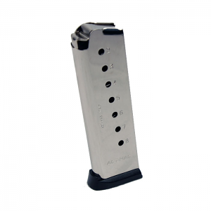 ACT-MAG .45ACP 8RD Nickel - Full Size 1911 Magazine