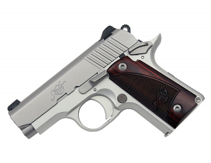 Kimber Micro Stainless Rosewood .380ACP
