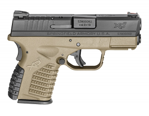 Springfield Armory XDS 9mm - FDE