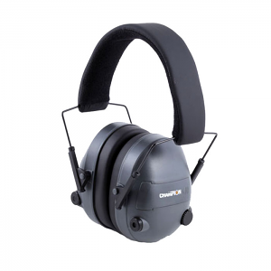 Champion Electronic Ear Muffs - Grey