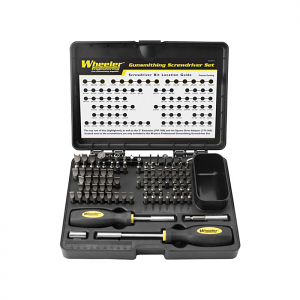 Wheeler Engineering 89-Piece Professional Gunsmith Screwdriver Set