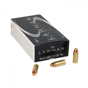 Speer Lawman 9mm Luger 115 GR. TMJ - 50RD