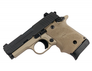 Sig Sauer P938 9mm, Night Sights, Combat