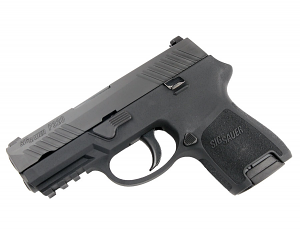 Sig Sauer P320 Sub-Compact, 9mm, Nitron, SigLite Night Sights, DAO