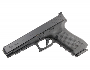 Glock 34 GEN 4 MOS 9mm - Black - U.S. Made