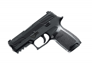 Sig Sauer P320 Carry, 9mm, Nitron, SigLite Night Sights, DAO