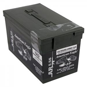 Federal Lake City M193 5.56mm 55GR FMJ- 120RD Box