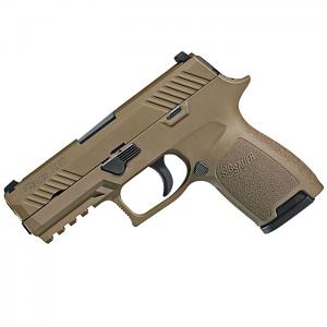 Sig Sauer P320 Compact, 9mm, FDE, SigLite Night Sights, DAO