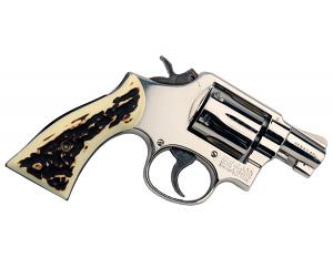 Smith & Wesson Model 10-7, Nickel, .38 SPL - USED