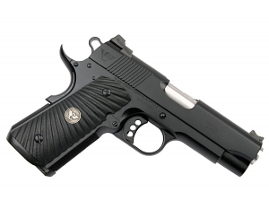 Wilson Combat CQB Compact, .45ACP, G10 Grips, Magwell, Black