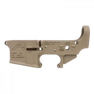 Aero Precision AR15 Stripped Lower Receiver, Gen 2 - FDE