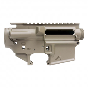 Aero Precision AR15 Stripped Upper/Lower Receiver Set - FDE