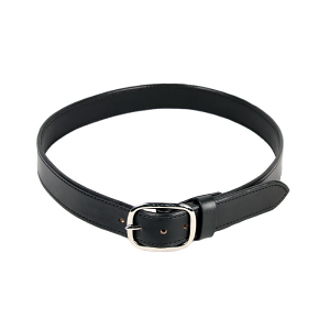 Milt Sparks Leather Gun Belt - Black - 42