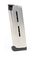 Wilson Combat #47OX 1911 Officers .45 ACP 7rd magazine - Stainless