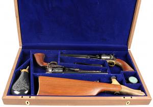 olt 1977 U.S. Calvary Commemorative Revolver Set - .44 Cal. - USED