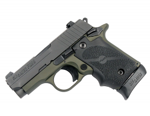 Sig Sauer P238 .380ACP Army Green, Night Sights, SAO
