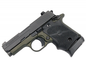 Sig Sauer P938 9mm, Night Sights, Army Green