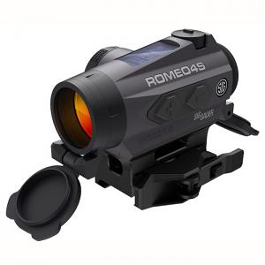 Sig Sauer Romeo4S 1X20mm Solar Red Dot/Ballistic Circle Dot - 2 MOA