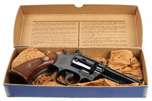 Smith & Wesson Model 18 Combat Masterpiece - Box
