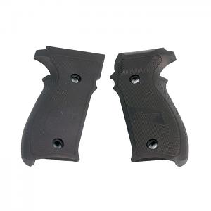 Sig Sauer P226 Grips, Aluminum - BLACK