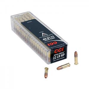 CCI Mini Mag .22LR 36GR HP - 100RD
